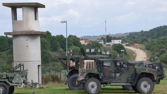 Tausende Soldaten üben in Hohenfels den Ernstfall