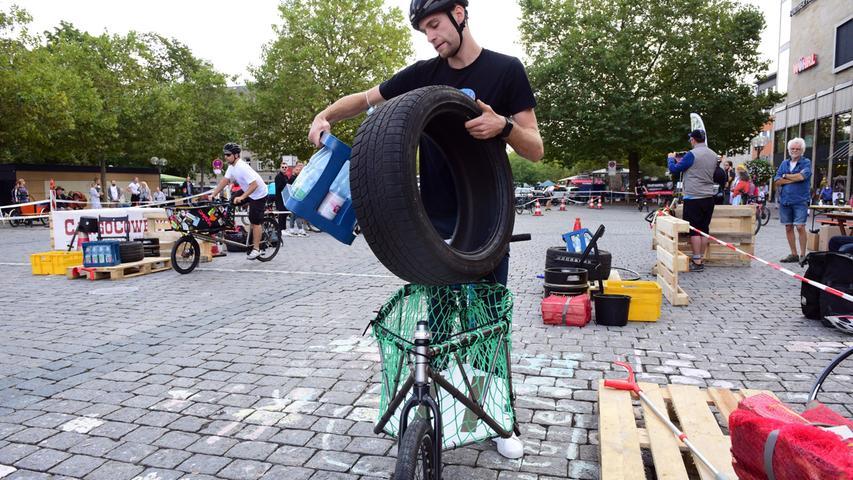 FOTO: Hans-Joachim Winckler DATUM: 18.9.2021 MOTIV: Zweites Fürther Lastenradrennen auf der Freiheit