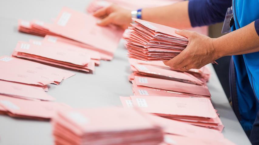 Einzigartiger Boom in Nürnberg: Stimmt jeder Zweite per Briefwahl ab?