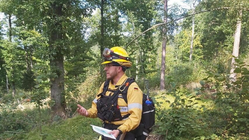 Damit nichts außer Kontrolle gerät, hat der Leiter von@fire, Thorsten Sprenger, einen genauenBrennplan.
