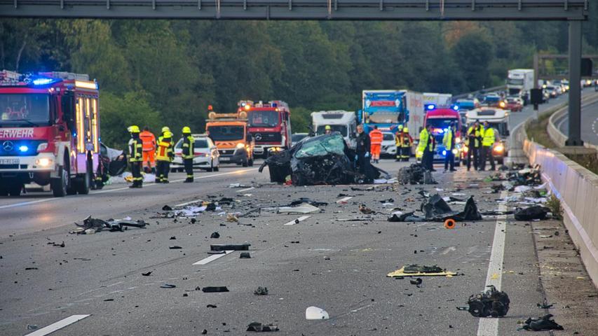Vier Menschen sterben: Schwerer Verkehrsunfall in Hessen
