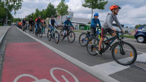 Kiddical Mass für ein fahrradfreundliches Neumarkt