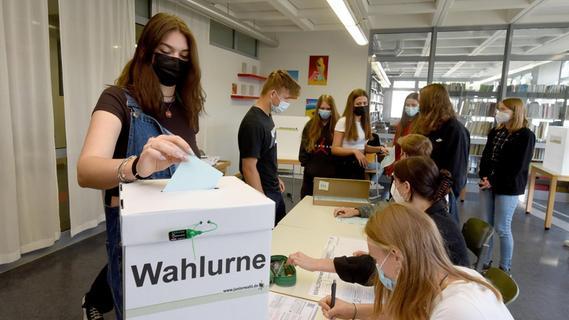 Pegnitzer Gymnasium beteiligt sich an Wahlprojekt