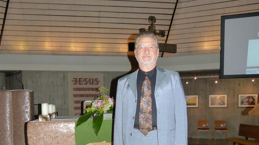 Roland Deinzer in der Christuskirche