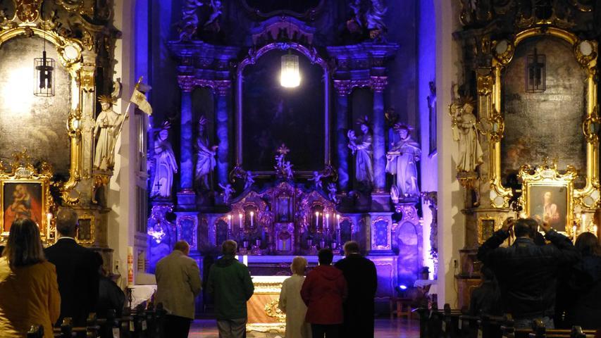 Abschlussgottesdienst in der Klosterkirche St. Anton
