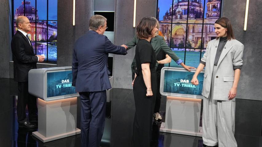 Finaler TV-Showdown! So lief das letzte Triell vor der Bundestagswahl