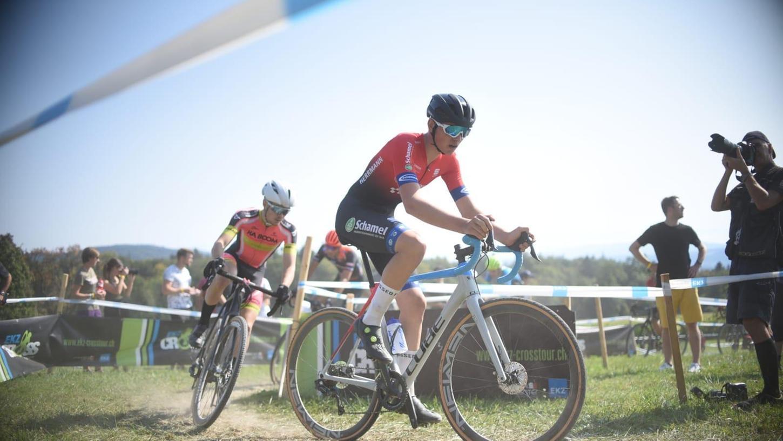 Ein Dormitzer unter den besten Nachwuchsfahrern des Landes: Lukas Herrmann vom Team Schamel startet am liebsten bei Cyclocross-Rennen.