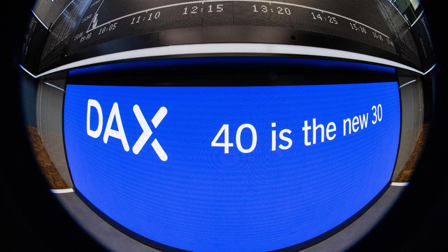 40 ist das neue 30: Seit Montag sind im Dax 40 Unternehmen.
