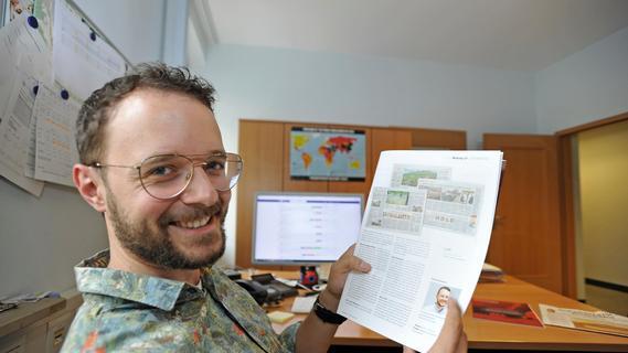 Die Idee zur Serie hatte Patrick Schroll. Er ist stellvertretender Redaktionsleiter der NN Forchheim.