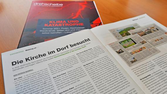 Die Drehscheibe ist das Magazin für den Lokaljournalismus in Deutschland und im deutschsprachigen Ausland. In der aktuellen Ausgabe wird die NN-Serie