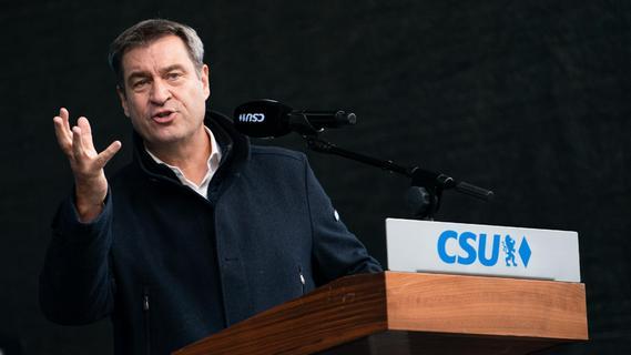 Wollte Söder auf einer Wahlkampf-Veranstaltung die Wähler täuschen?