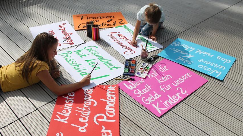 Protest: Höchstadter Eltern fordern Luftfilter für die Grundschulen