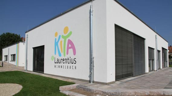 """Die Außenansicht der neuen Kindertagesstätte """"St. Laurentius""""."""
