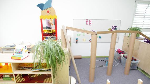 Helle und freundliche Gruppenräume mit eigenen Spielecken und Rückzugsmöglichkeiten für die Kinder sind Teil des Konzeptes des Neubaus.