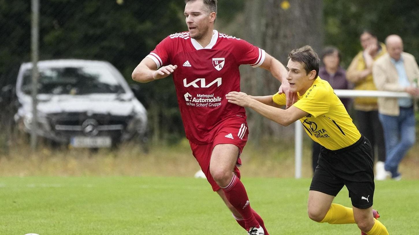 Christian Eigler geht voran – gegen Dittenheim schon von Beginn an als Spieler.