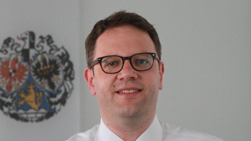 Martin Holzinger, Leiter des Bürgeramts der Stadt Erlangen.