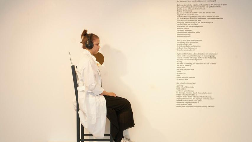 "Tania El Khoury mit""As Far As My Fingertips Take Me""."