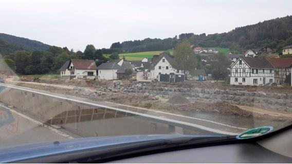 Private Hilfsaktion aus Forchheim erreicht Flutopfer im Ahrtal