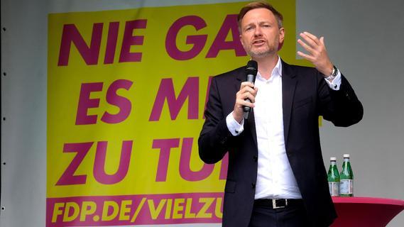 Christian Lindner - der gefragte Mann im Wahlkampf