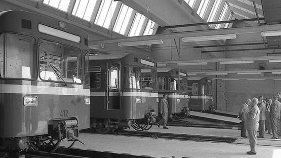 22. September 1971: Jungfernfahrt durch den U-Bahn-Tunnel