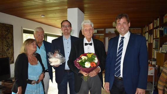 Berühmter Anatomieprofessor aus Neunkirchen am Brand feiert 100. Geburtstag