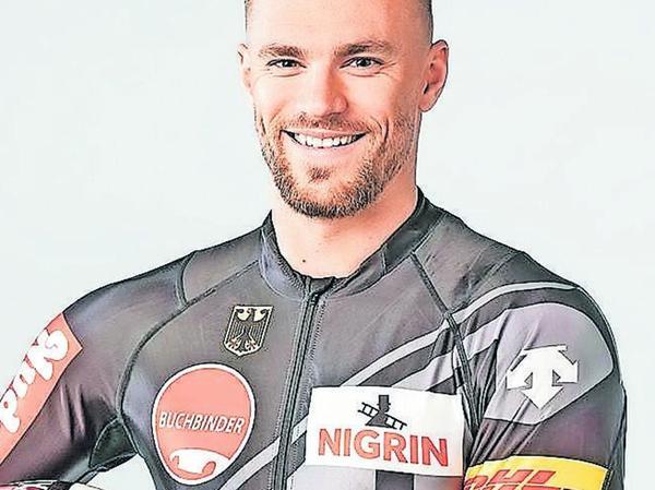 Sportpolizist Tobias Schneider aus Eckersmühlen.