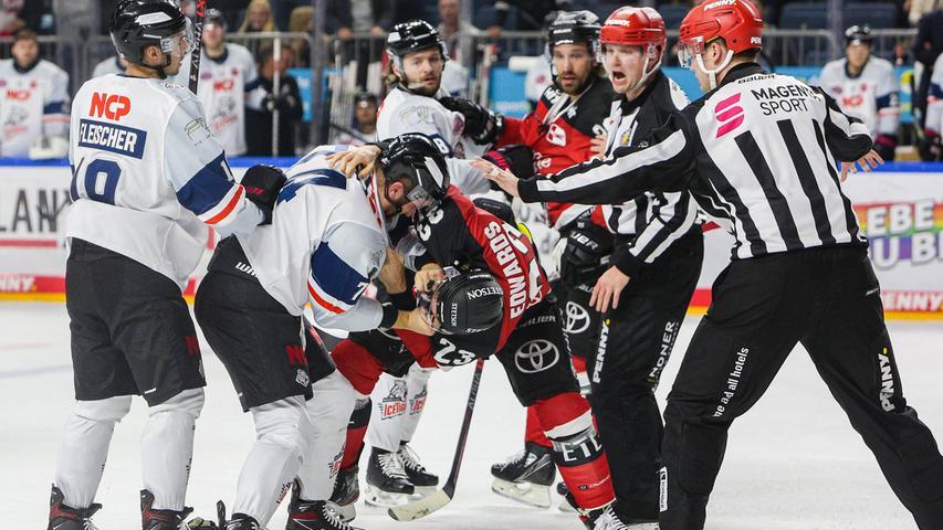 2:4 in Köln: Ice Tigers nur im Faustkampf nicht harmlos