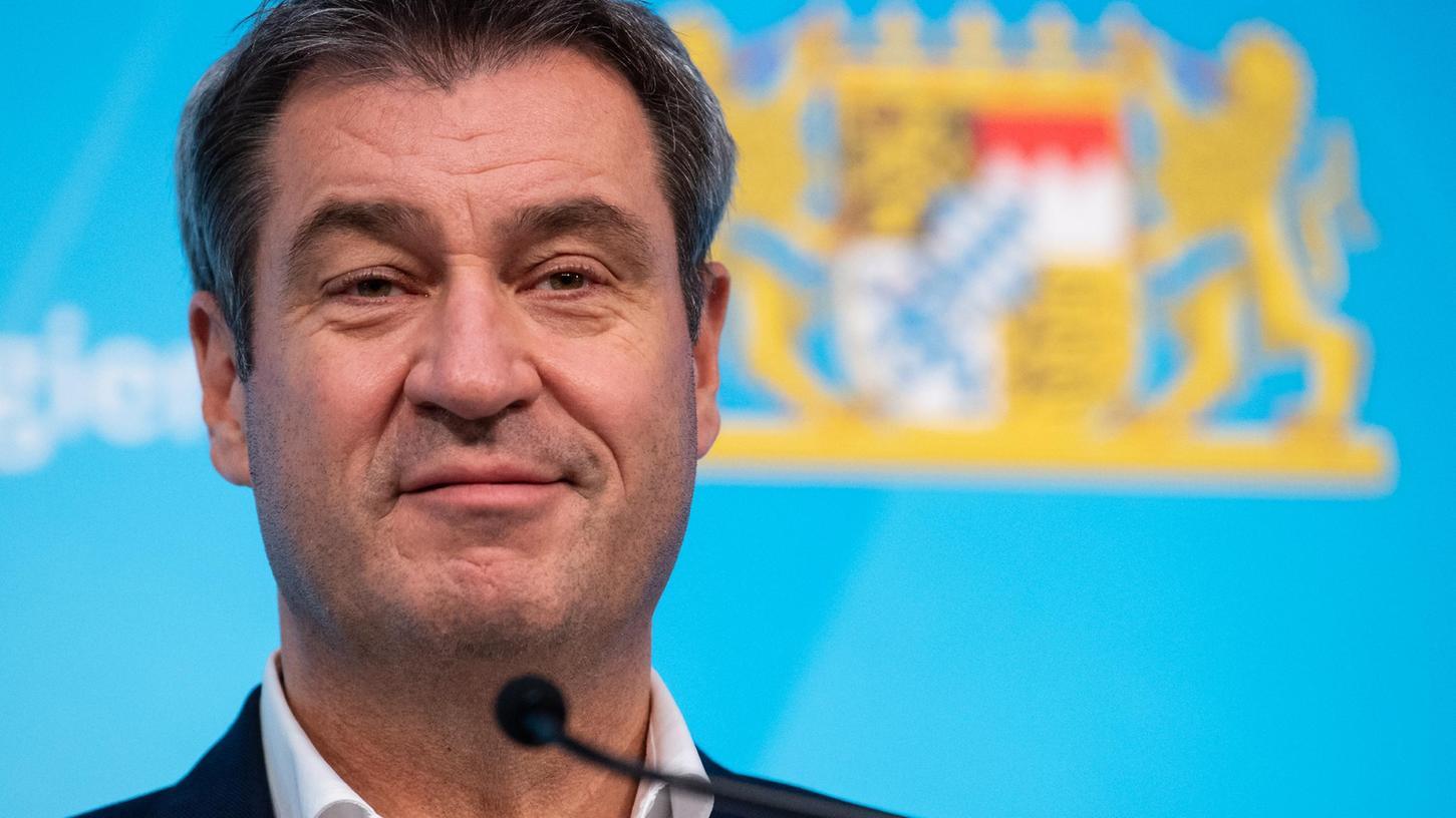 Keine Chance auf das Kanzleramt, aber dafür auf die Herzen der Bürger? Ministerpräsident Markus Söder.