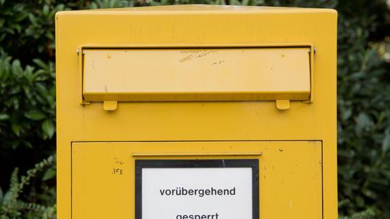 Briefkästen geschlossen: Anwohner im Nürnberger Süden sind sauer