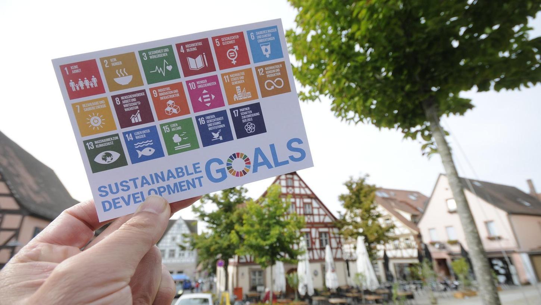 Die 17 Nachhaltigkeitsziele (Sustainable Development Goals) sollen in Herzogenaurach viele Freundinnen und Freunde finden.