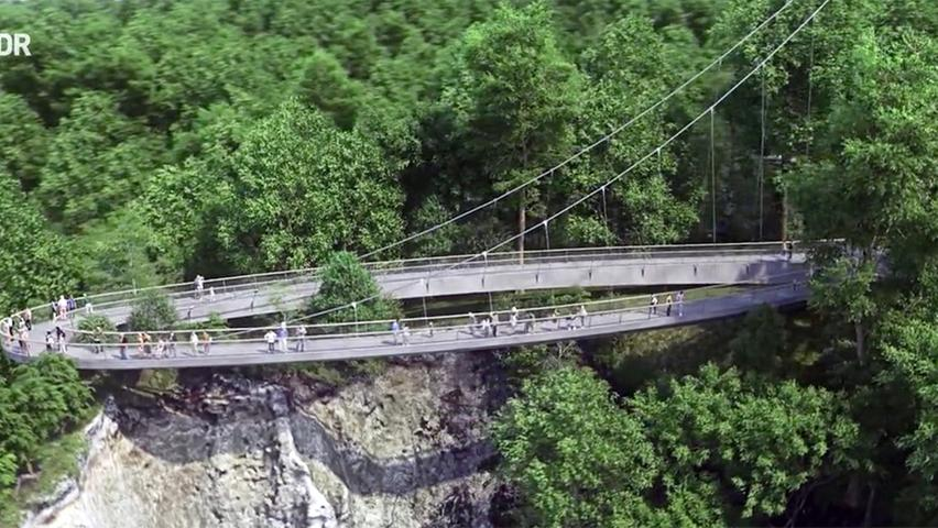 So wird die Brücke am Königsstuhl aussehen.