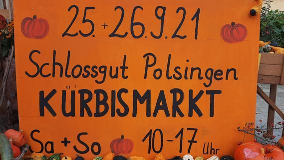 Schlossgut Polsingen lädt zum Kürbisfest