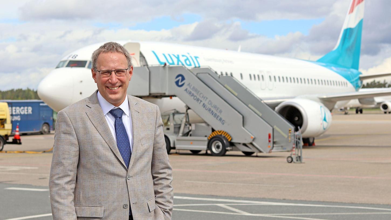 Michael Hupe ist seit November 2013 Geschäftsführer des Albrecht Dürer Airports Nürnberg.