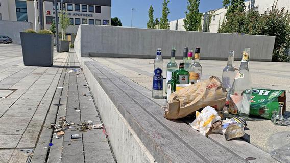 Aggressive Auswüchse: Oberasbach prüft ein Alkoholverbot