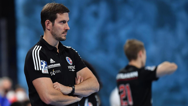 Entschlossener Blick: Michael Haaß glaubt an seine Mannschaft - auch, wenn sie diesmal als klarer Außenseiter ins Spiel geht.