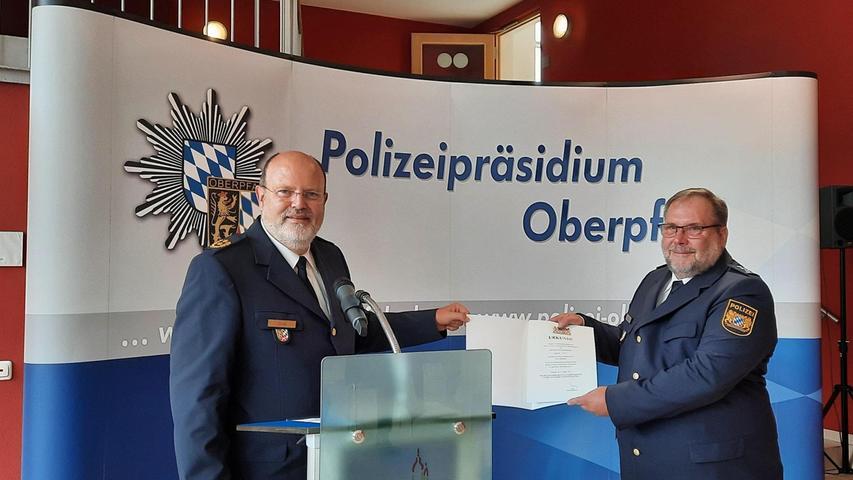 Auerbacher Polizeichef in den Ruhestand verabschiedet