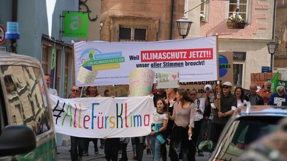 Weißenburg streikt fürs Klima