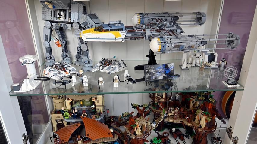 Star-Wars-Welten aus Lego.