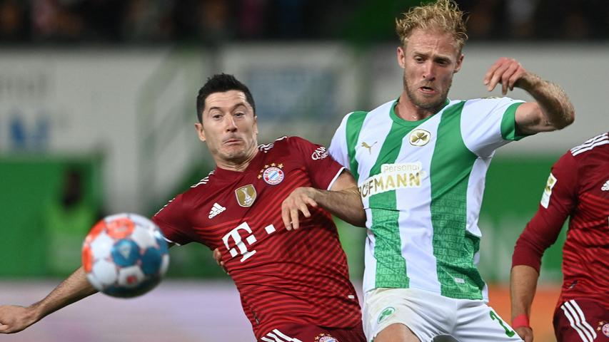 Tapfer gegen die Titel-Bayern! (Nur) 1:3 - das Kleeblatt braucht Noten