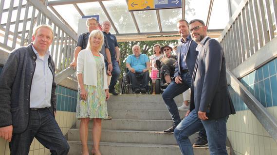 Endstation für Gehbehinderte: Ministerin soll Gmünder Bahnhof ausbauen helfen