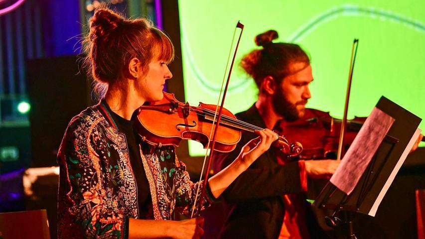 Birka Falter präsentierte ihr Projekt gemeinsam mit dem ensemble katharsis.