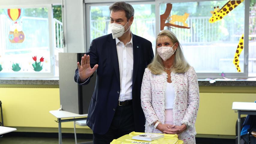 Bundestagswahl 2021: Hier stehen die Spitzenpolitiker an der Wahlurne