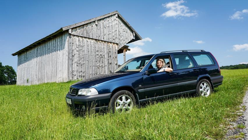 Der erste seiner Art: Volvo V70 XC aus dem Jahr 1997.