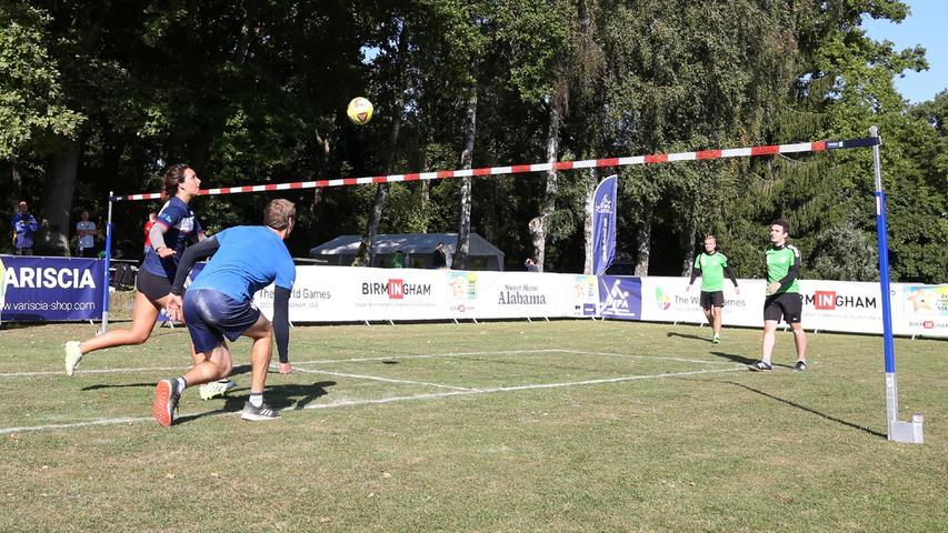 Zwei gegen Zwei: Wie der Faustball spektakulärer werden will