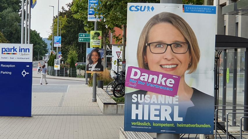 Bedankte sich schon vor dem offiziellen Ende der Stimmabgabe für das Vertrauen der Wähler: Die CSU-Direktkandidatin Susanne Hierl