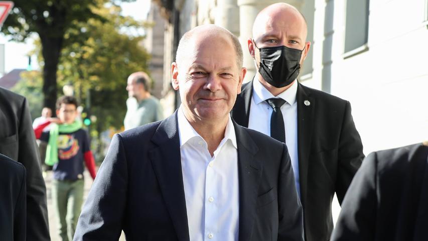 Debakel für die Union, Erfolg von Olaf Scholz - aber wer Kanzler wird, ist noch offen