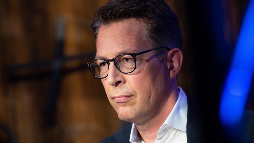 CSU-Generalsekretär Markus Blume sieht nach der Bundestagswahl einen Erfolg der Union darin, einen Linksrutsch verhindert zu haben.