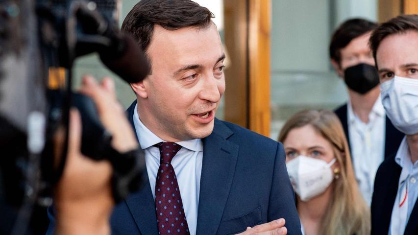 CDU-Generalsekretär Paul Ziemiak sieht die Union in einem Kopf-an-Kopf Rennen mit der SPD.