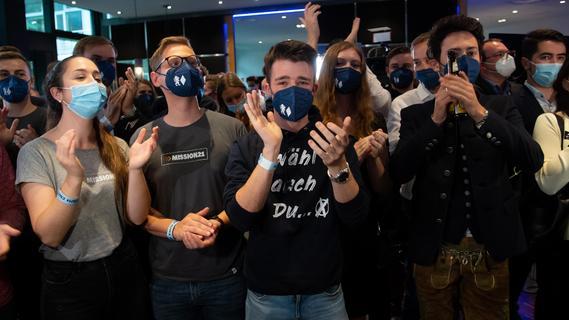 Von wegen Party: So reagierte die CSU in München auf die Wahlprognosen