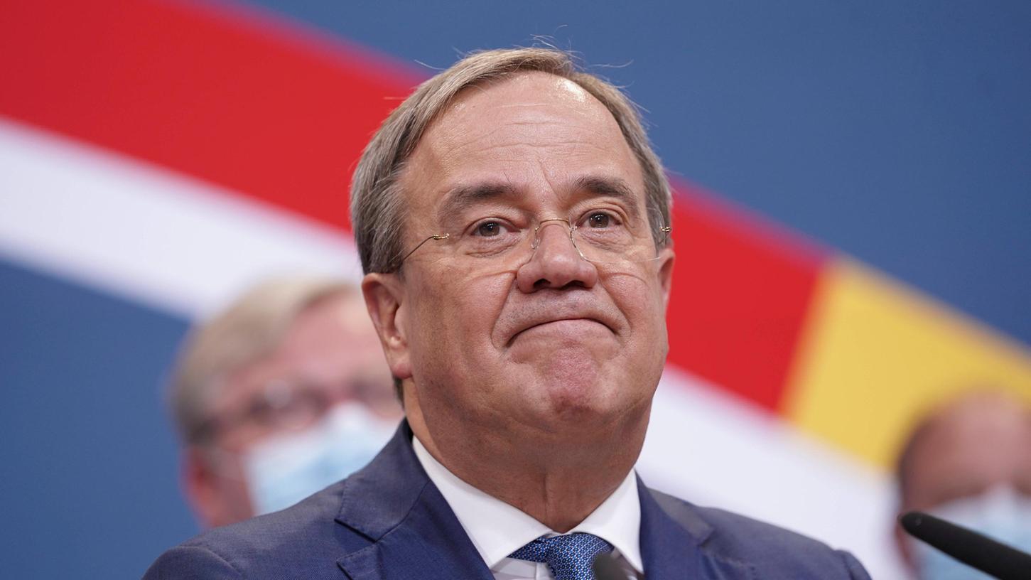 Nur eine Minderheit der Deutschen traute ihm das Amt des Kanzlers zu: Armin Laschet.